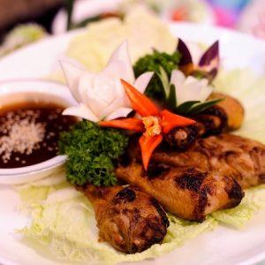 Variety of food at ramadhan selangor BGR